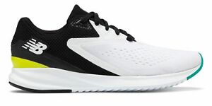 New-Balance-Men-039-s-Fuelcell-Vizo-Pro-Run-Shoes-White-With-Black