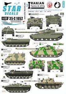 Star-Decals-1-35-Iranian-Tanks-AFV-3-National-Liberation-Army-Mujahedin-35c1052