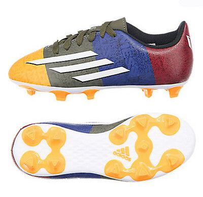 Neu Adidas F5 Fg J Messi Fußball Schuhe Nocken Outdoor Rasen Gr 37 38
