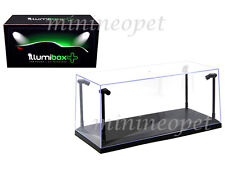 ACRYLICASE 14001 CLEAR DISPLAY SHOW CASE FOR 1/18 BLACK BASE with LED LIGHTS