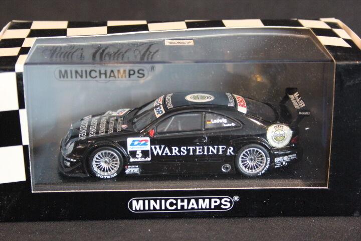 Minichamps Mercedes-Benz CLK-DTM 2000 2000 2000 1 43 Klaus Ludwig (GER) (JS) 4c2290