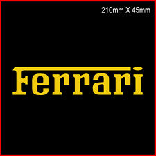 Ferrari stickers Lettering / Ferrari car Sticker Vinyl /Vinyl Cut Logo / Decal