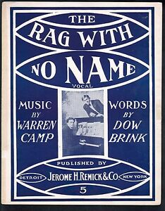 Rag-With-No-Name-1911-Large-Format-Sheet-Music