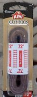Kiwi 72in. Brown Outdoor Shoe Laces 667-010 - Pack of 6