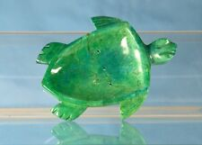 TURTLE SOAP DISH   Trinket tray green marble NEW!    Free Priority Shipping!