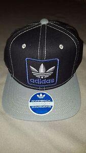 e6f4ebd74a3 ADIDAS THRASHER 2 MENS SNAPBACK HAT BLACK GREY PURPLE CAP NEW WITH ...