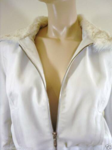 Collar Leather White Liamis Sebba Soft Designer With Hood Jacket Fur Iw4q8