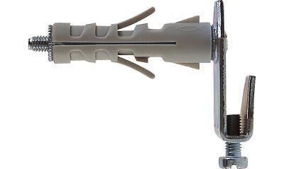 4pz Fischer tasselli in nylon SB 12//1 con occhiolo aperto 4 PZ x murature 504461