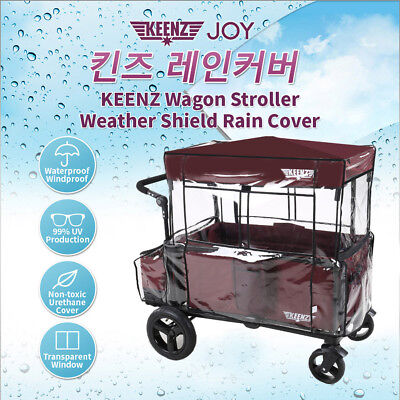 Not Included Wagon KEENZ Wind Cover For Keenz X-Protect Wind,Rain,Sun,Dust