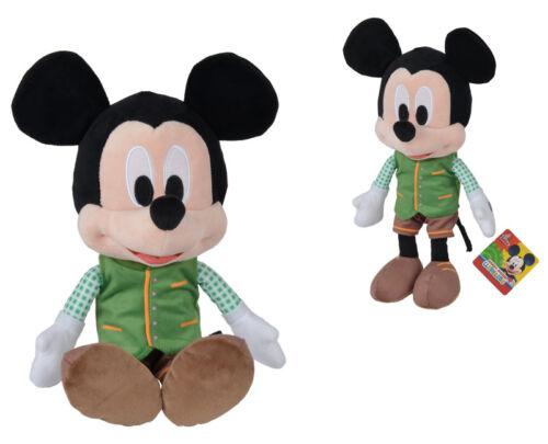 Simba Disney Lederhosen MICKEY PELUCHE PERSONNAGE 30 cm Vert-Brun