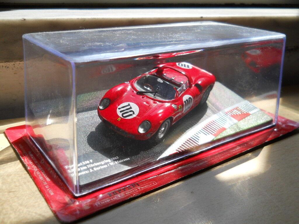 1 43 LOTTO 3 3 3 FERRARI   250 P 1963, 250 GTO 1964, F40 COMPETIZIONE 1989. ebbe97