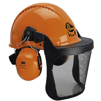 3M Peltor Helm-Kombination für Forstarbeiten, Forstschutzkleidung