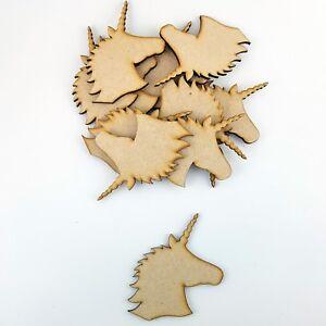 MDF Triceratops Dinosaur Laser cut Craft Blank Embellishment Varied Sizes Pack 5