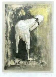 Jean-Jansem-French-Armenian-1920-2013-Lithograph-in-Color-Signed-Limited-Ed