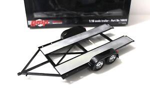 1-18-GMP-Trailer-with-tire-shelf-Regal-black-NEW-bei-PREMIUM-MODELCARS