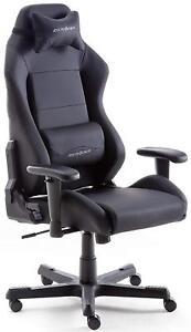 Details About Robas Lund Ohde01n Dx Racer 3 Gaming Schreibtischstuhl Bürostuhl Schwarz
