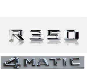 Chrome Boots Trunk 3D Letters //////AMG Emblem Emblems Badges for Mercedes Benz AMG