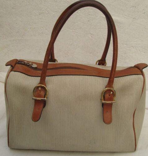 Main À In Ferragamo Vintage Salvatore Bag Authentique Tbeg Sac Made Italie 7SxqWR