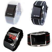 Luxus Uhren Handgelenk Herren Digital LED Sport Uhr Wasserdicht Neu Quarz