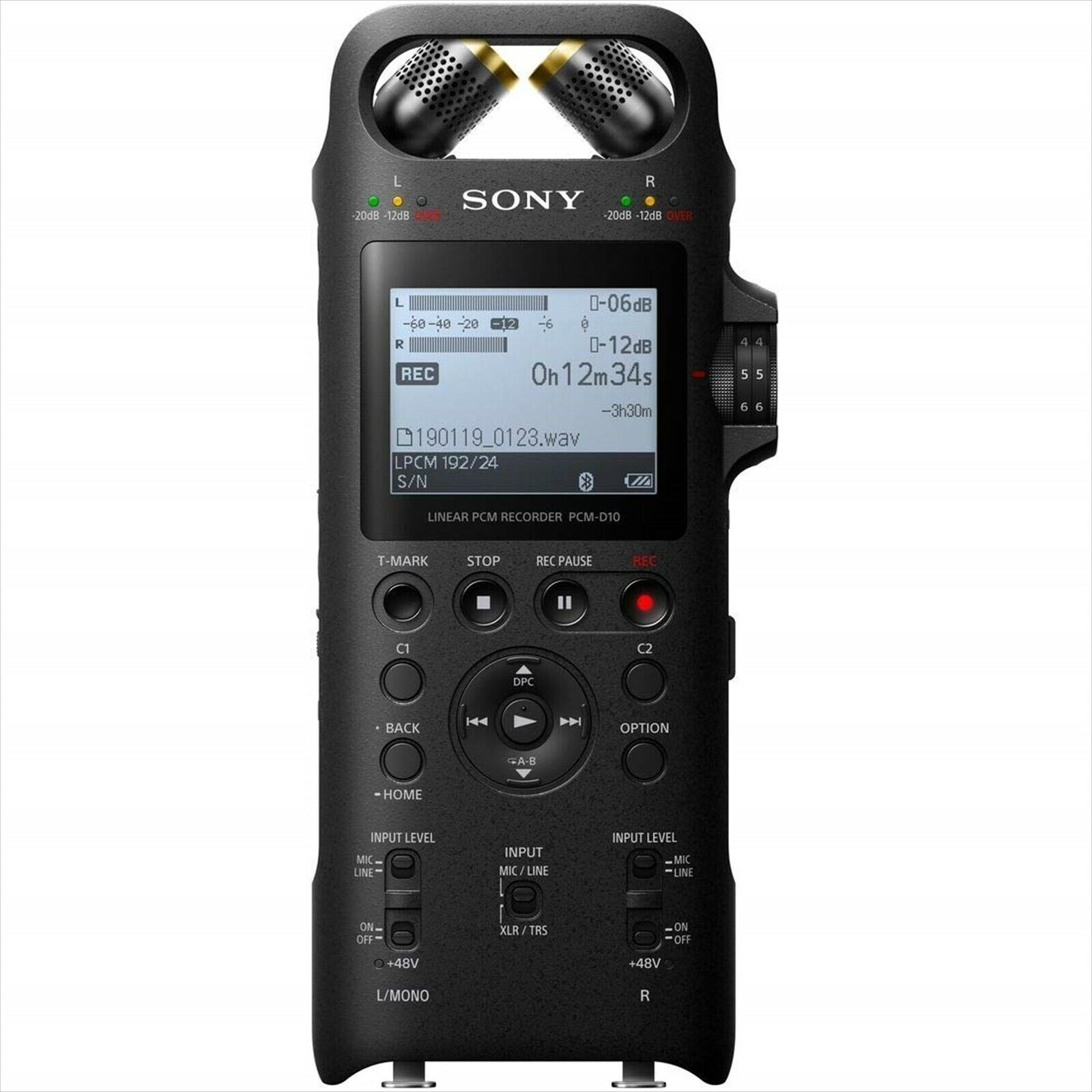 Sony PCM-D10 Linear PCM recorder high res recording support 16GB NEW