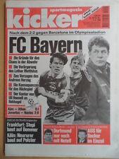 KICKER 29 - 4.4. 1996 FC Bayern-Barcelona 2:2 St.Pauli-Leverkusen 2:1 Eishockey