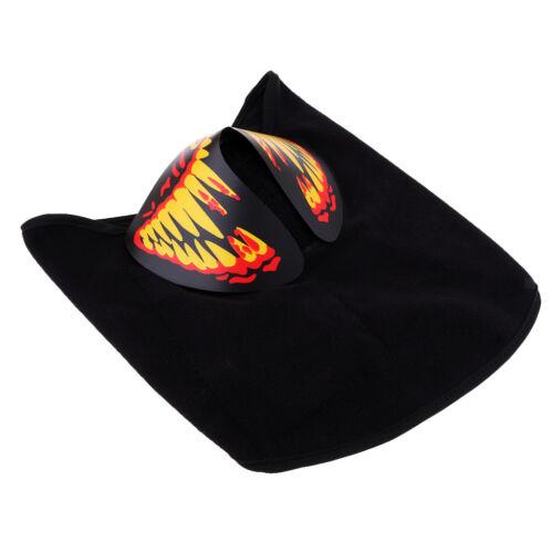 Camping & Outdoor Outdoor winddicht LED Luminous Flashing Light Gesichtsmaske Mundschutz für Bekleidung