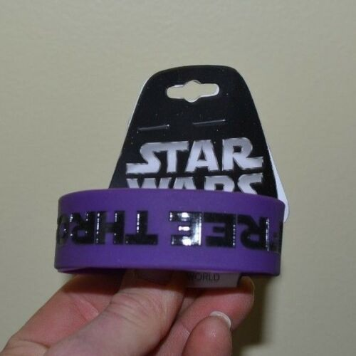 "1"" Star Wars Wristband FREE THROAT HUGS Officially Licensed"