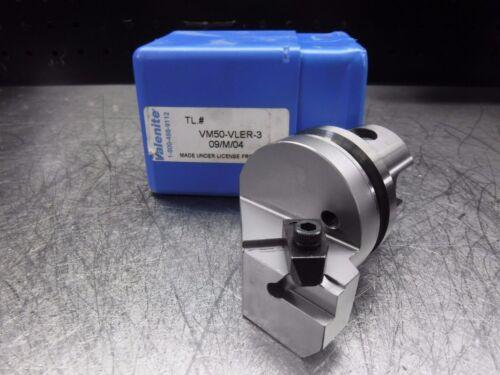 LOC1274A KM 50 Indexable Grooving//Threading Head VM50-VLER-3 Valenite VM