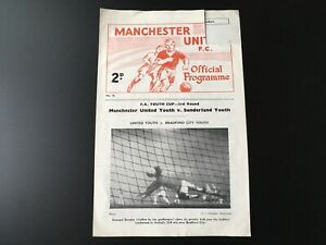 MANCHESTER-UNITED-YOUTH-V-SUNDERLAND-YOUTH-1962-63
