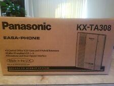 Nib Panasonic Kx Ta308 Easa Phone Adv Hybrid System With4 Phones Sm Office