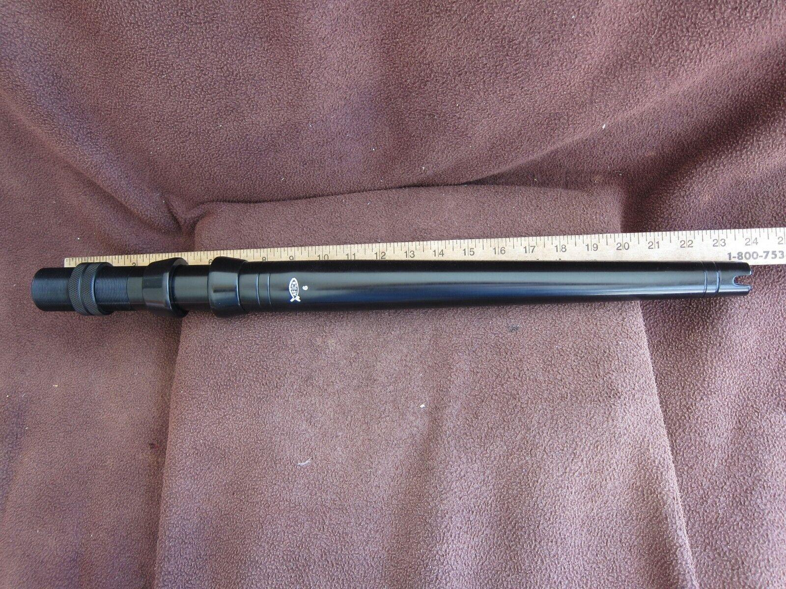 Aftco Trasero De Aluminio Recto Negro Tamaño  6 - sin Usar    6bs