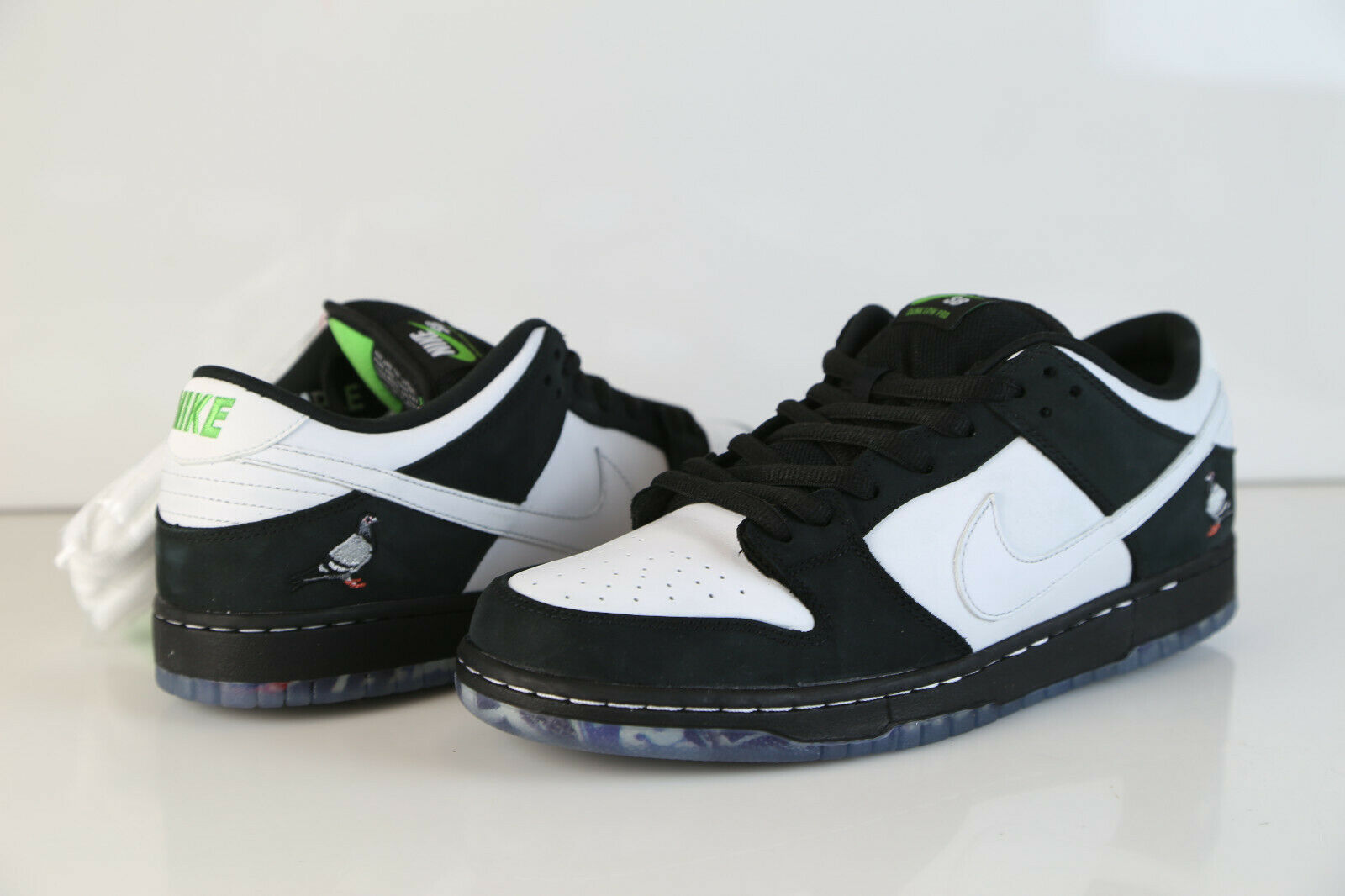 Nike Dunk Low SB Pro OG QS Staple Panda Black White BV1310-013 8-13