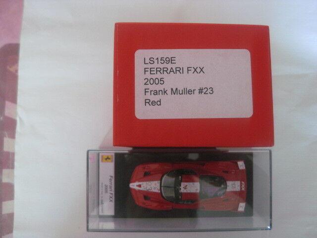 Look SMART FERRARI FXX FXX FXX 2005 Frank Müller  23 rosso 1 43 NUOVO IN SCATOLA ORIGINALE ls159e be5b5b