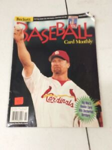 Details About Beckett Baseball Card Monthly Magazine Price Guide Mark Mcgwire Nov 1998 70 Hr