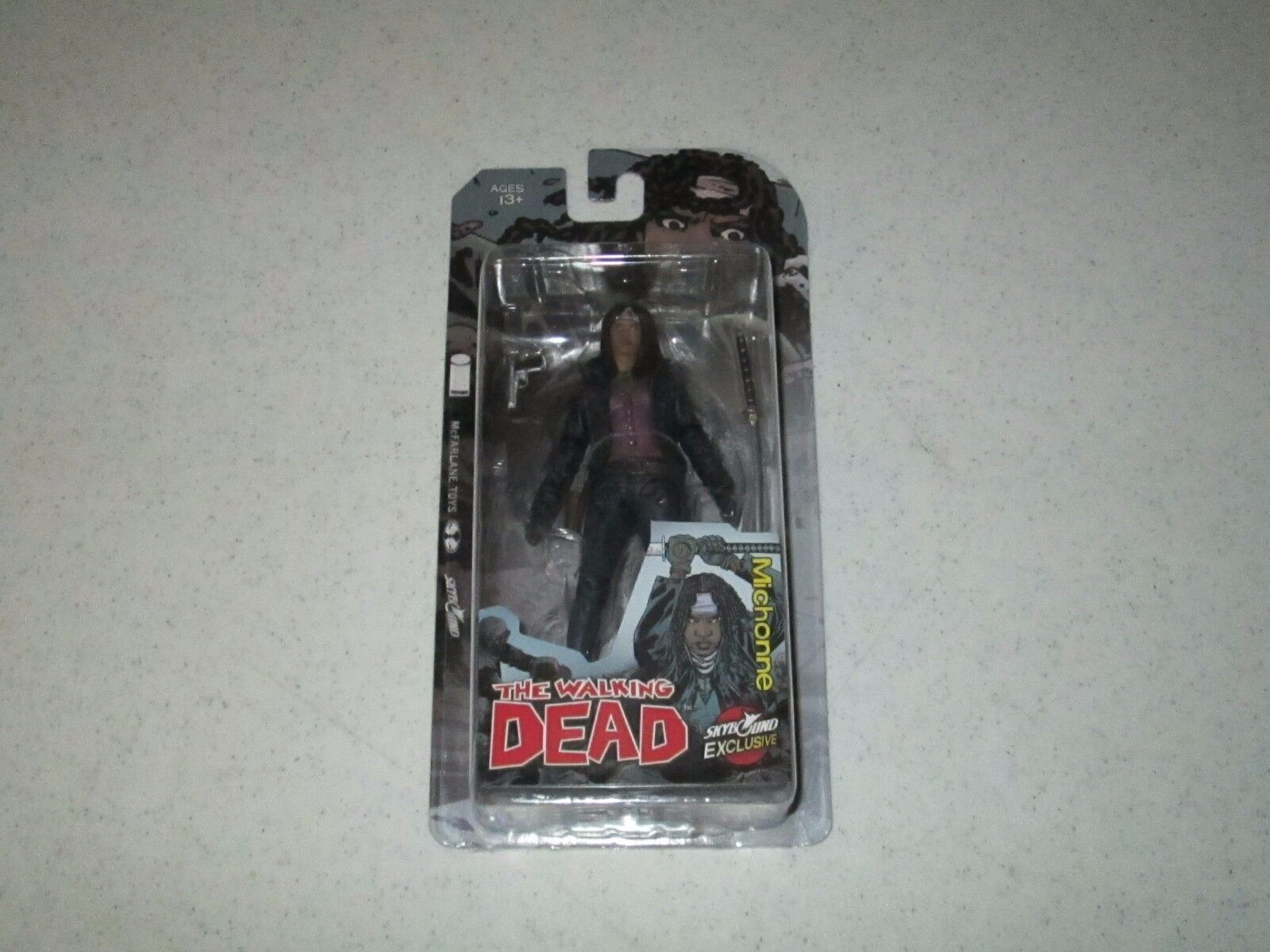 The Walking Dead Michonne Action Figure McFarlane Toys color Variant FREE SHIP