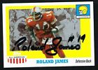 Roland James 2005 Topps All American #91 signed autograph auto Trading Card