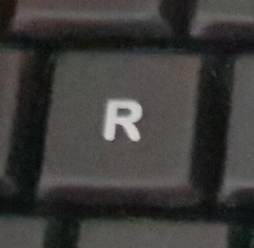 Replacement Keys Logitech K800 Illuminated Keyboard Button Plastic White Clip