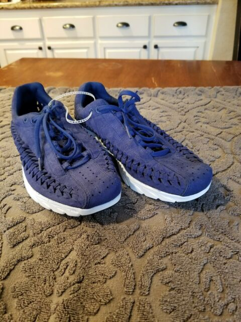 9b2a771388d Nike Mayfly Woven dark blue White Low Running Casual Shoes 833132 004 Size  9 new