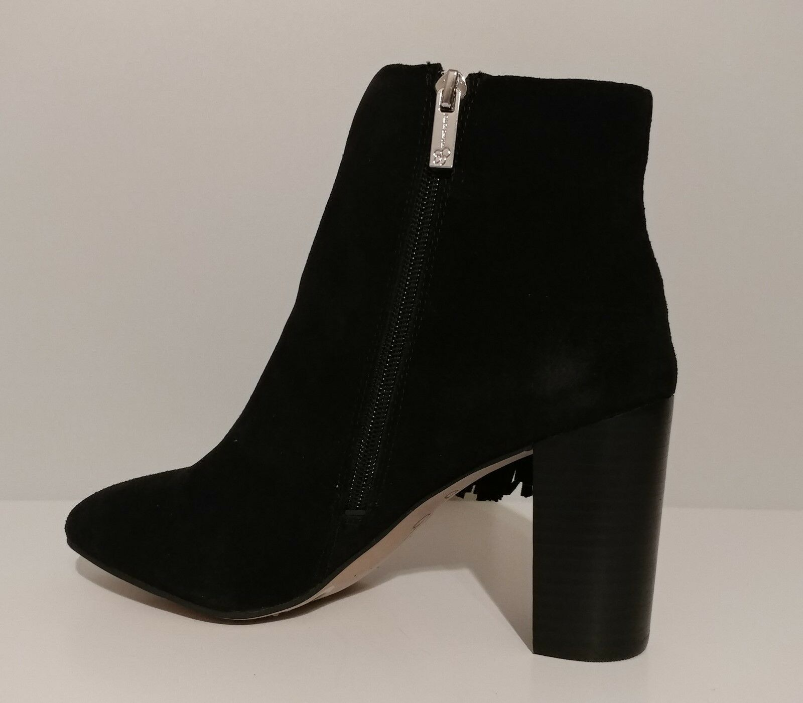 NEW NEW NEW   Jessica Simpson Black Suede Boots 3.5  Heel Size 9.5M US 39.5M EUR cfd6ff