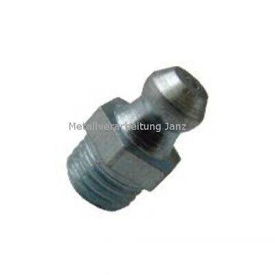 DIN71412 verzinkt H3 10 Stück Fettnippel Schmiernippel M6 x 1 mm 90° Form C