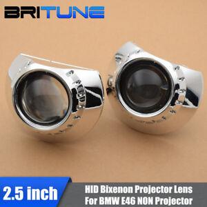 2-5-039-039-Mini-HID-Bi-xenon-Projector-Lens-H1-For-BMW-E46-Non-Projector-Headlight