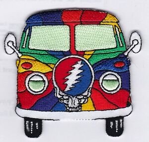 GRATEFUL-DEAD-VW-BUS-IRON-or-SEW-ON-PATCH