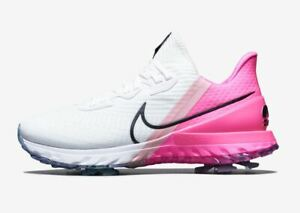 Details about Nike Air Zoom Infinity Tour W(Wide) Men's Golf Shoes White  Pink CT0541-101
