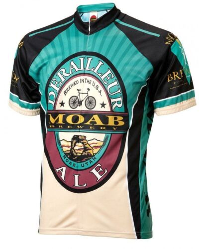 Moab Brewery Derailleur Ale Cycling Jersey