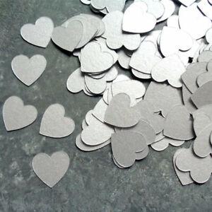 C-ur-Argent-Fete-Confetti-Dispersion-Saupoudrer-Decoration-de-Table-Anniversaire-Mariage