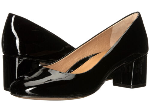 New In Box Womens Corso Como GWYNN Black Patent Leather Pumps Heels Shoes