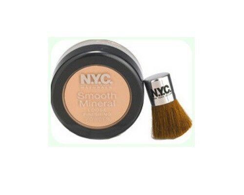 690A NATURAL VEIL NYC NEW YORK COLOR SMOOTH MINERAL LOOSE FINISHING POWDER RET