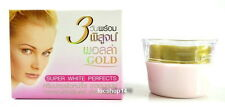 10G.POLLA GOLD WHITENING CREAM SUPER WHITE PERFACTS FACIAL SKIN CARE CREAM