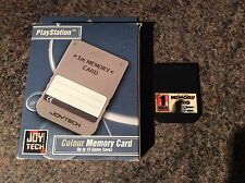 1Mb Ps1 Memory Card! Look In The Shop!