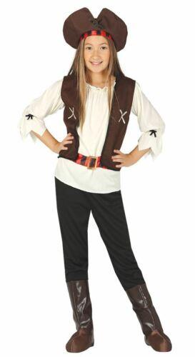 Le ragazze Sette Mari Dei Caraibi Pirata Costume Costume Completo da giorno LIBRO